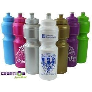 Drink Bottles - Plastic 800ml Soft Squeeze Printed Drink Bottle bottle