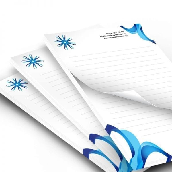 Generic Decoration A5 NotePad – 25 Pages Per pad- 100gsm – Full Colour 100gsm