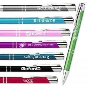 Express Offers Engraved Slimline Metal Pen – MIN QTY 100 0.99