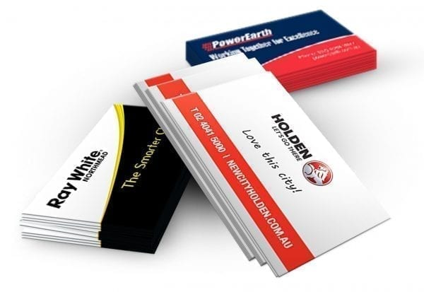 400gsm Full Colour Business Card 90mm x 55mm 400gsm