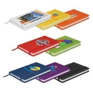 Notebooks A6 Alpha Notebook Speical Full Colour Logo alpha notebook