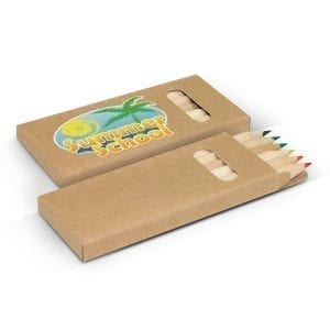 Children Promotional Coloured Pencil Pack coloured
