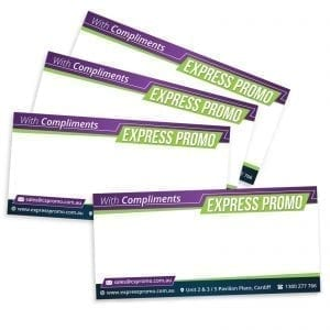 Express Offers With Compliment Slip DL 100gsm Full Colour 400gsm