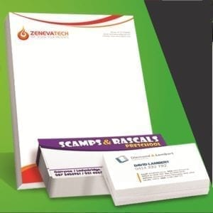 Stationery Pack SPECIAL 3 x 500 L/Head, Bus Card & Comps 400gsm