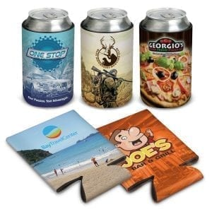Drink Coolers Flatpack Stubby Cooler – Full Colour Print can