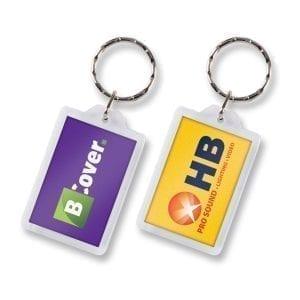 Key Rings Lens Key Ring – Rectangle -