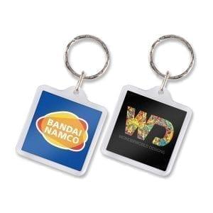 Key Rings Lens Key Ring – Square -
