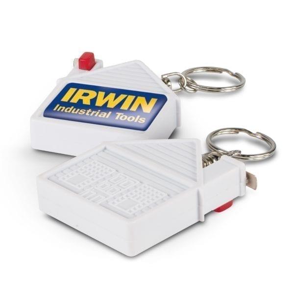 Key Rings House Tape Measure Key Ring House