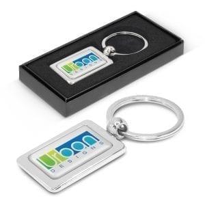 Key Rings Rectangular Metal Key Ring key