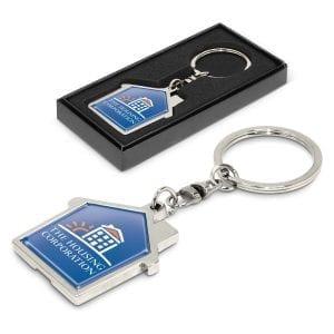 Key Rings House Metal Key Ring House