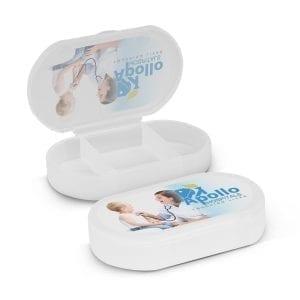 First Aid Pill Box box