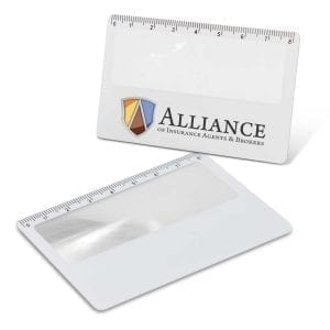 Promotion Card Magnifier card