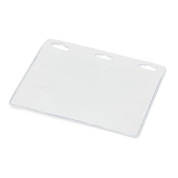 Conference Clear Vinyl ID Holder clear