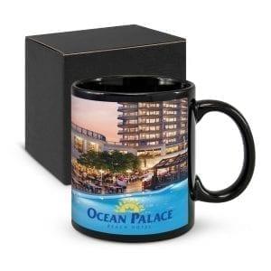 Ceramic Mugs Black Hawk Coffee Mug black