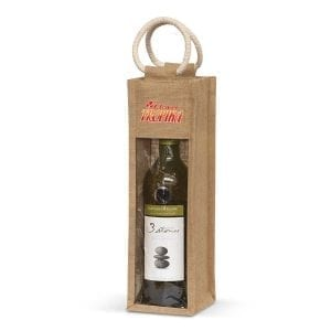 Eco Serena Jute Wine Carrier Carrier