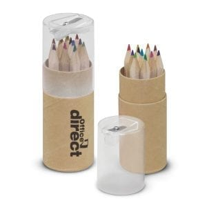 Children Coloured Pencil Tube coloured