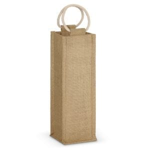 Eco Napoli Jute Wine Carrier Carrier