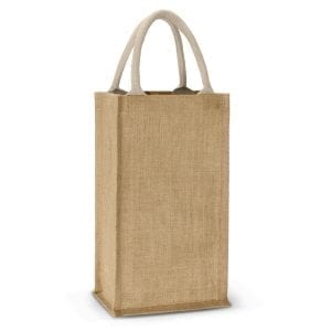 Eco Donato Jute Double Wine Carrier Carrier