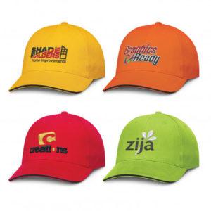 Caps Prado Sandwich Trim Cap cap
