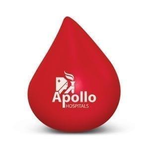 Health & Beauty Stress Blood Drop Blood