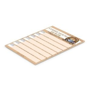 Mailable Items A5 Note Pad – 25 Leaves -