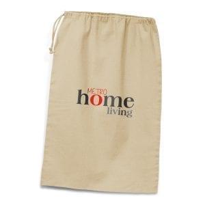 Cotton Bags Drawstring Laundry Bag bag