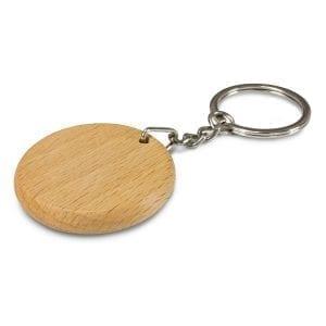 Eco Artisan Key Ring – Round -