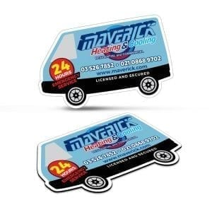 Magnets Fridge Magnet 90 x 55mm – Van Shape -