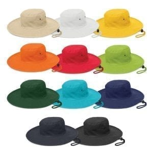 School Headwear Cabana Wide Brim Hat Brim