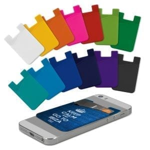 Phone Wallets Silicone Phone Wallet – Full Colour -