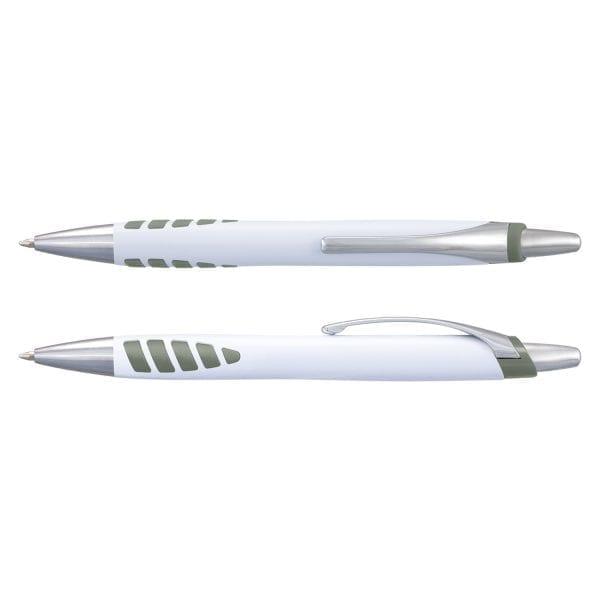 Plastic Proton Pen – White Barrel -