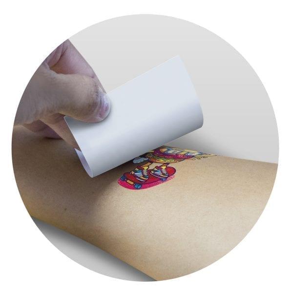 Fundraising Temporary Tattoo Foil – 51mm x 51mm -