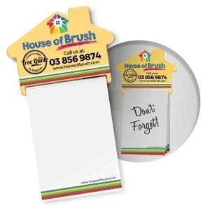 Magnets Magnetic House Memo Pad A7 – Full Colour -