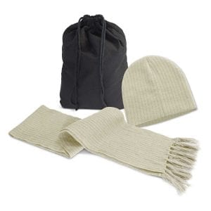 Beanies Nebraska Scarf and Beanie Set and