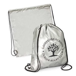 Drawstring Bags Titanium Drawstring Backpack Backpack