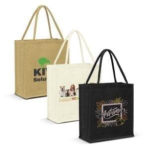 Eco Lanza Jute Tote Bag – Colour Match -
