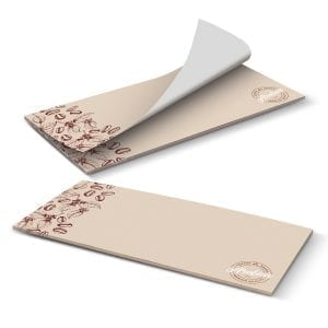 Mailable Items DLE Horizontal Note Pad – 25 Leaves -