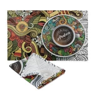 Home and Living Bistro Cotton Tea Towel bistro