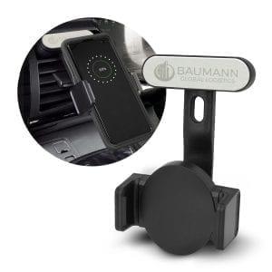 Automotive Zamora Wireless Charging Phone Holder Charging