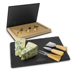 Cheese & Serving Boards Montrose Slate Cheese Board Set Board