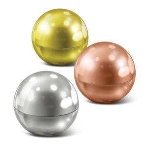 Lip Balms Metallic Lip Balm Ball Ball