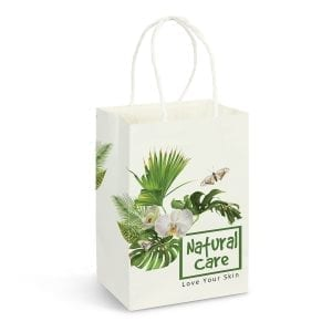 Eco Small Paper Carry Bag – Full Colour -
