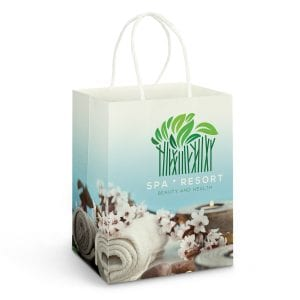 Eco Large Paper Carry Bag – Full Colour -