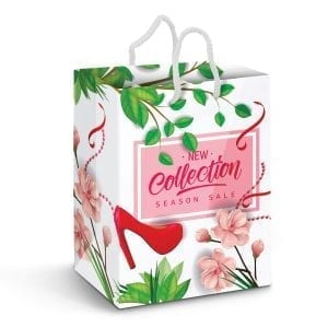 Gift Bags Large Laminated Paper Carry Bag – Full Colour -