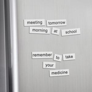Children Fridge Magnet Word Set fridge