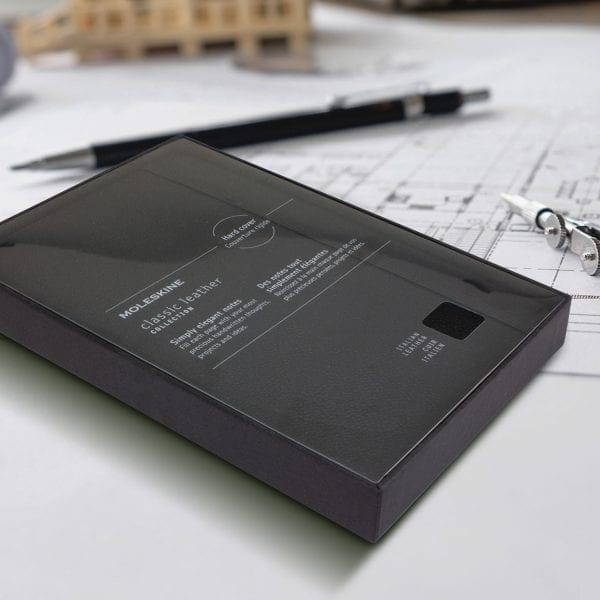 Moleskine Moleskine Classic Leather Hard Cover Notebook – Large -