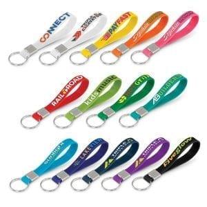 Key Rings Silicone Key Ring – Embossed -