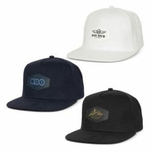 Caps Regal Flat Peak Cap with Patch cap